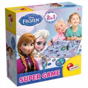 Real Fun Lisciani Frozen Super Game
