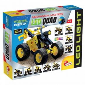 Real Fun Lisciani Mechanical Masters Led-Squad (10 In 1)
