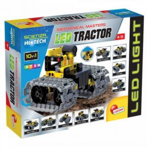 Real Fun Lisciani Mechanical Masters Led-Tractor (10 In 1)
