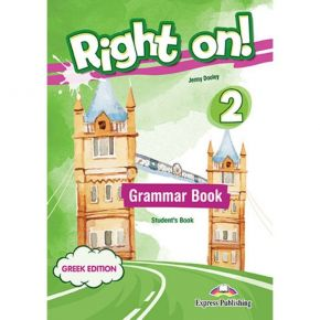 Right On 2 - Grammar Book (Greek Edition+DigiBook App.)