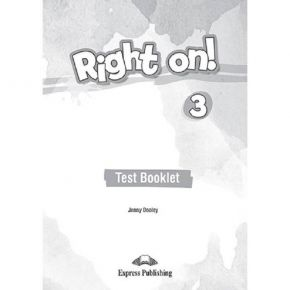 Right On 3 - Test Book