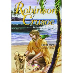 Robinson Crusoe - Reader & Activity Book & Audio CD