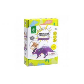 Robotime Ξύλινο Puzzle 3D Construction Kit Triceratops Back To Life