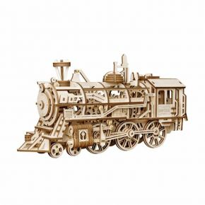 Robotime Ξύλινο Puzzle Locomotive 3D