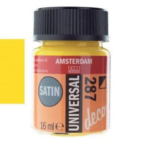 Royal Talens Amsterdam Universal Satin Bright Yellow Νο287 16ml