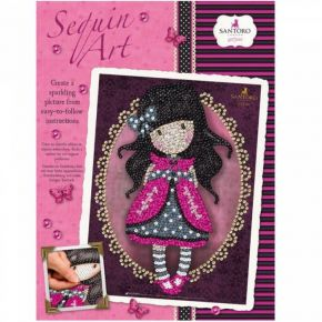 Santoro Gorjuss Sequin Art Ladybird