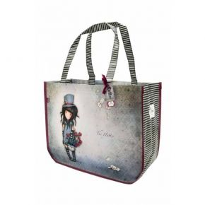 Santoro Gorjuss Shopping Bag The Hatter 253GJ09