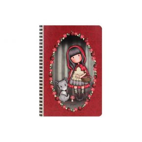 Santoro Gorjuss Τετράδιο Α5 Little Red Riding Hood 314GJ31