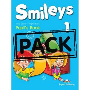 Smiles 1 - Pupil's Pack (Pupil's Book+Alphabet Book+CD+i-eBook)