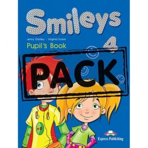 Smiles 4 - Power Pack (Pupil's Book+Activity Book+Vocabulary & Grammar Practice+CD)