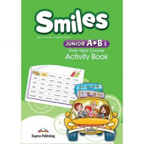 Smiles Junior A+B One Year Course - Activity Book (Βιβλίο Ασκήσεων)