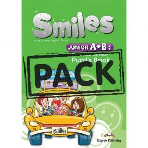 Smiles Junior A+B One Year Course - Pupil's Pack (Pupil's Book+Alphabet Book+CD)