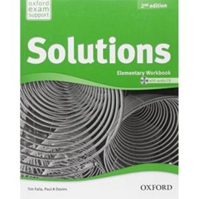 Solutions Elementary - Workbook (Βιβλίο Ασκήσεων+CD)