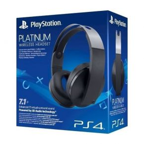 Sony PS4 Platinum Wireless Headset