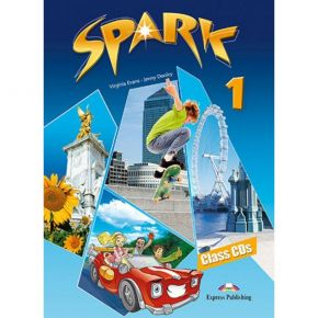 Spark 1 (Monstertrackers) - Class Audio CDs (Set Of 3)