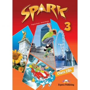 Spark 3 (Monstertrackers) - Class Audio CDs (Set Of 3)