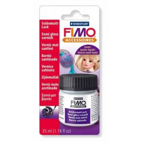 Staedtler Fimo Accessories Semi-Gloss Varnish Βερνίκι Σατινέ-Ματ 35ml