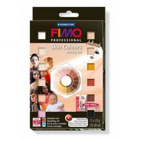 Staedtler Fimo Professional Doll Art Materialpack Skin Colours 8027-01