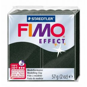 Staedtler Πηλός Fimo Effect Black Pearl 8020-907 57gr