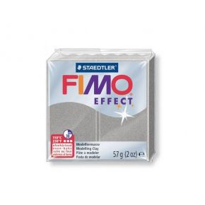 Staedtler Πηλός Fimo Effect Light Silver 8020-817 57gr