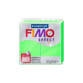 Staedtler Πηλός Fimo Effect Neon Green 8010-501 57gr