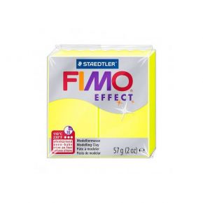 Staedtler Πηλός Fimo Effect Neon Yellow 8010-101 57gr