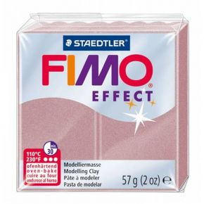 Staedtler Πηλός Fimo Effect Rose Pearl 8020-207 57gr