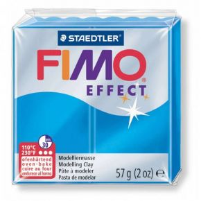 Staedtler Πηλός Fimo Effect Translucent Blue 8020-374 57gr