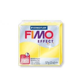Staedtler Πηλός Fimo Effect Yellow Translucent 8020-104 57gr