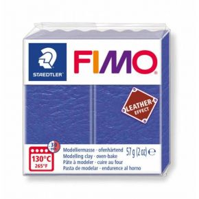 Staedtler Πηλός Fimo Leather Effect Indigo 8010-309 57gr