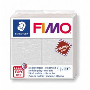 Staedtler Πηλός Fimo Leather Effect Ivory 8010-029 57gr