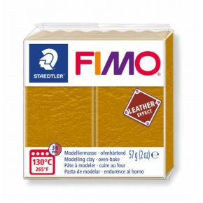 Staedtler Πηλός Fimo Leather Effect Ochre 8010-179 57gr