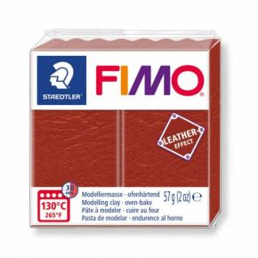 Staedtler Πηλός Fimo Leather Effect Rusty 8010-749 57gr