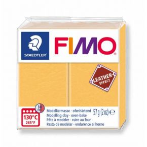 Staedtler Πηλός Fimo Leather Effect Saffron 8010-109 57gr
