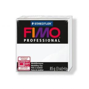 Staedtler Πηλός Fimo Professional White 8004-0 85gr