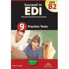 Succeed In EDI CEFR B2 (9 Practice Tests) Student's Βook