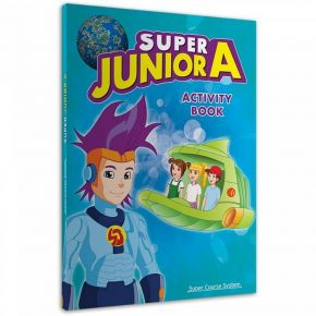 Super Junior A Activity Book (+Stickers)