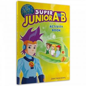 Super Junior A To B Activity Book (+Stickers)