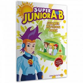 Super Junior A To B: Summer Revision Book (+ Stickers)
