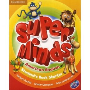 Super Minds Starter - Student's Book (Βιβλίο Μαθητή+DVD)