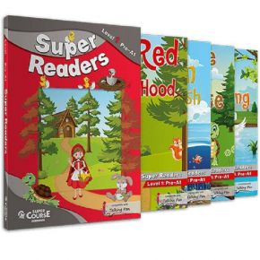 Super Readers Level 1 (Junior A) - Πακέτο 4 Παραμύθια (+ Mp3 + Glossary)