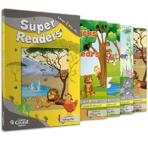 Super Readers Level 2 (Junior B) - Πακέτο 4 Παραμύθια (+ Mp3 + Glossary)