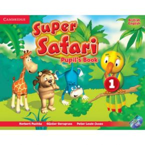 Super Safari 1 - Pupil's Book (Βιβλίο Μαθητή+DVD)