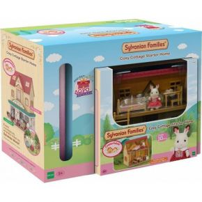 Sylvanian Families 036845 Λαμπάδα Cosy Cottage Starter Set