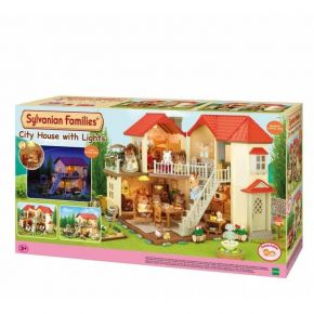 Sylvanian Families 2752 City House With Lights