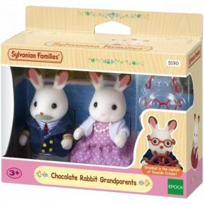 Sylvanian Families 5190 Chocolate Rabbit Παππούς & Γιαγιά