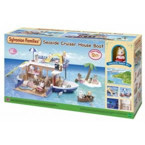 Sylvanian Families 5206 Seaside Cruiser House Boat