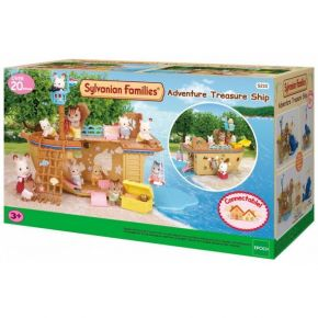 Sylvanian Families 5210 Adventure Treasure Ship