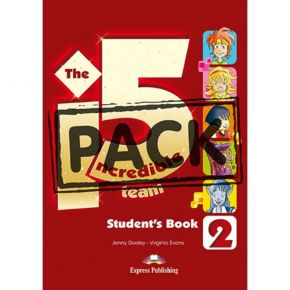The Incredible 5 Team i5 Level 2 - Student's Book (Βιβλίο Μαθητή+Glossary+i-eBook)