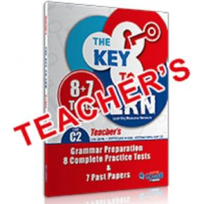 The Key To LRN C2 8 Practice Tests + 7 Past Papers - Teacher's Book